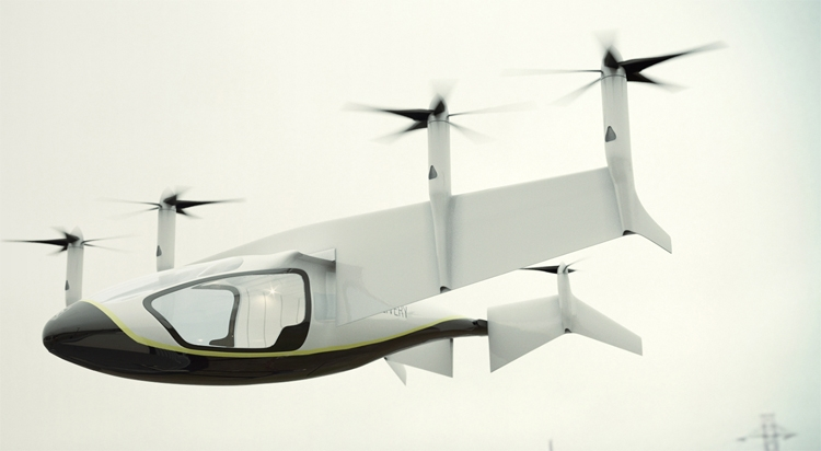 Роллс Ройс представил проект летающего гибридного транспорта