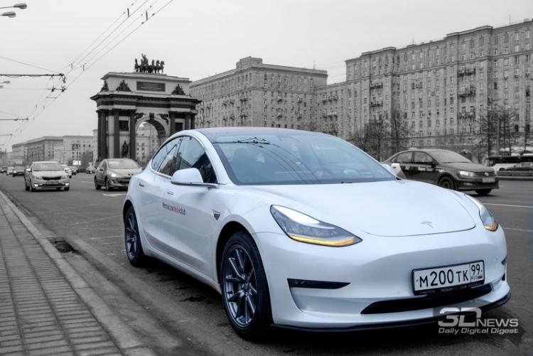 В России через интернет продали 276 электрокаров Tesla