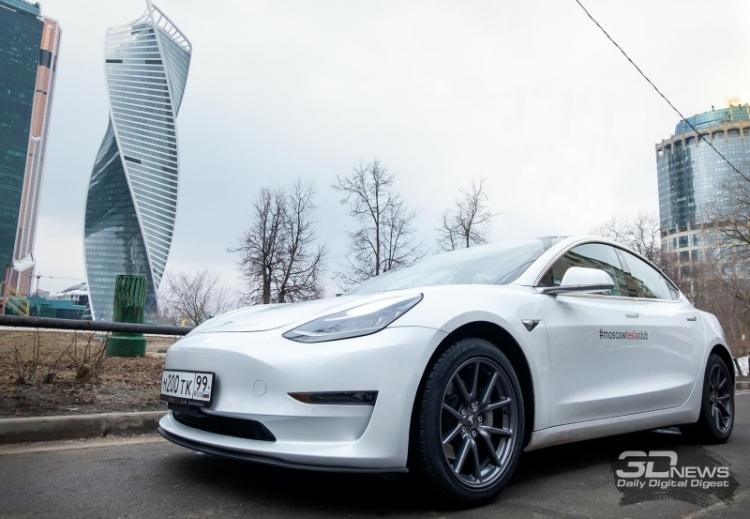 """«Связной» рассказал о заказах электромобилей Tesla"""""""