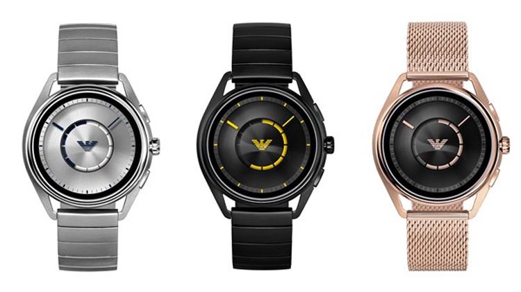 Emporio Armani Connected 2018: первые «умные» часы выпустили поцене китайской новинки