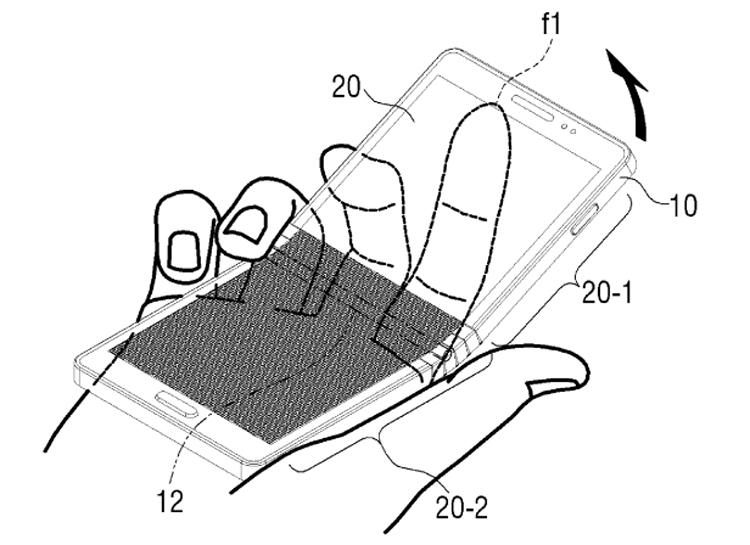 """Патентное ведомство раскрыло дизайн гибкого смартфона Samsung"""""""