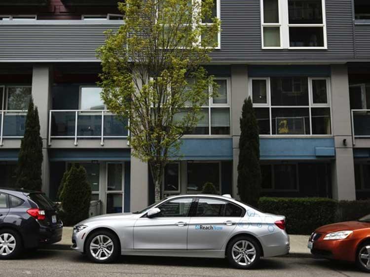 "BMW запустила в Сиэтле конкурента сервиса Uber"""