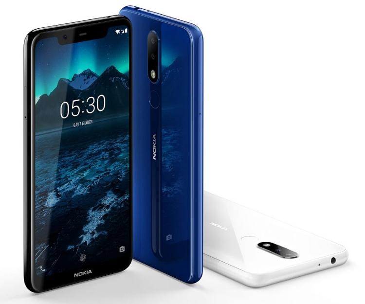 """Дебют Nokia X5: дисплей с вырезом, три камеры и чип Helio P60"""""""