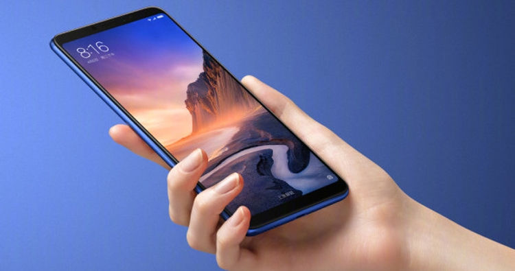 """Xiaomi Mi Max 3: фаблет с 6,9"""" экраном Full HD+ и мощным аккумулятором"""""""