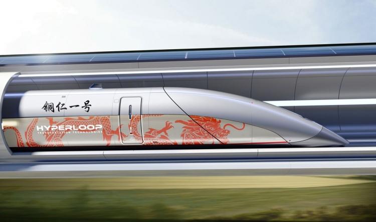 Hyperloop TT построит тестовый трек в Китае