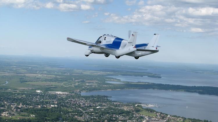 Летающий автомобиль отTerrafugia поступит в реализацию в предстоящем 2019-ом