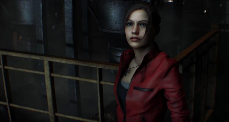 Та же сцена в рельсовом шутере Resident Evil: Darkside Chronicles 2006 года