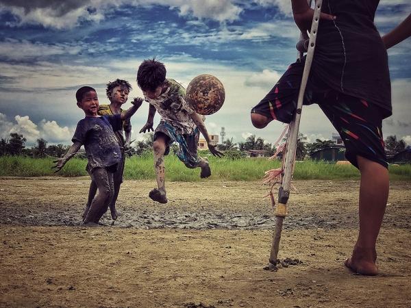 Фотограф года — третье место. Зарни Мио. Мьянма.