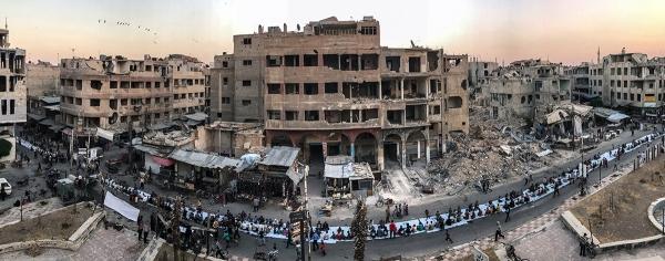 Первое место — новости и события. Мохаммед Бадра. Сирия.