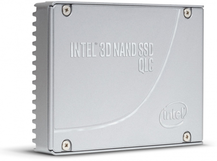Твердотельный накопитель Intel на базе 64-слойной 3D QLC NAND флеш-памяти