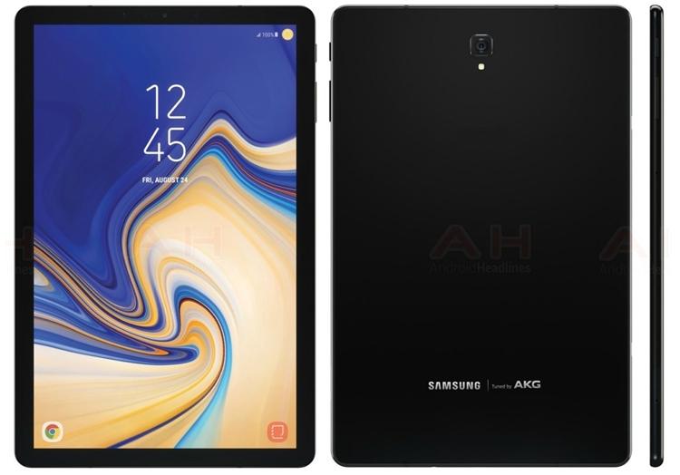 """Прошивка Samsung Galaxy Tab S4 подтвердила отсутствие сканера отпечатков"""""""
