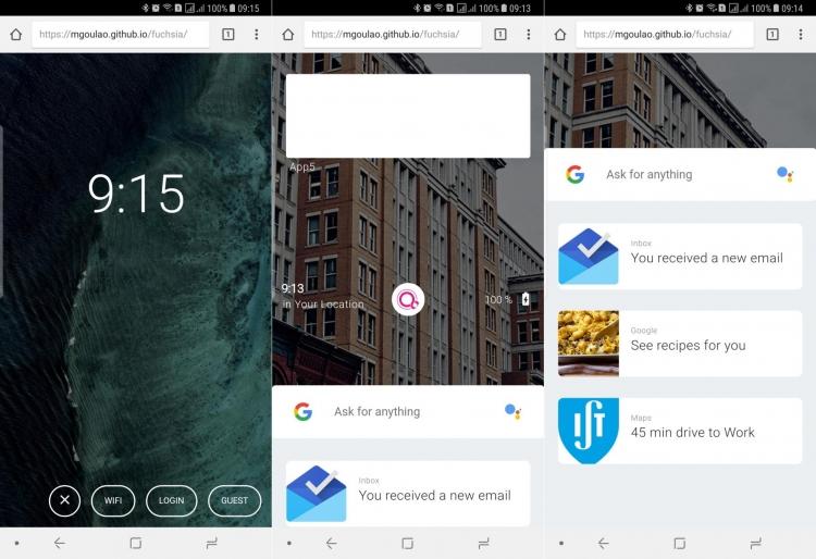 """Google продолжает тихую работу над Fuchsia OS, которая может заменить Android"""""""