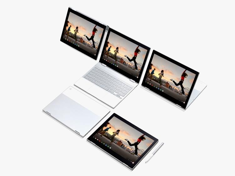 """Ноутбук Google Pixelbook нового поколения дебютирует осенью"""""""
