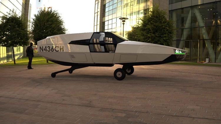"""Начинается разработка «летающего автомобиля» CityHawk"""""""