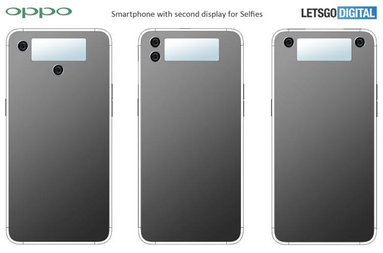 """Oppo патентует смартфон с дисплеем в тыльной части"""""""