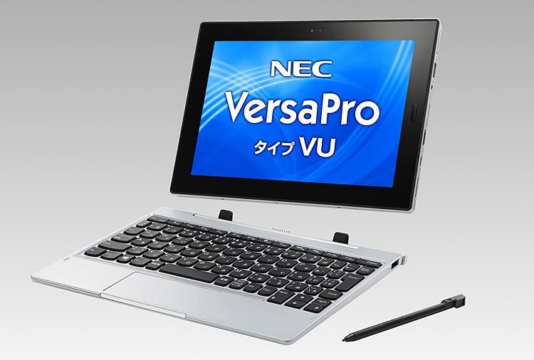 """Планшет NEC VersaPro VU использует чип Intel Gemini Lake и ОС Windows 10"""""""