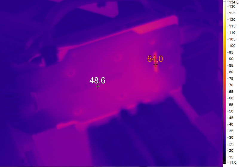 Нагрев GIGABYTE GV-N1060WF2OC-3GD