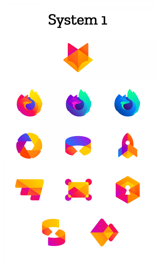 """Mozilla предложила пользователям оценить новые логотипы своих продуктов"""""""