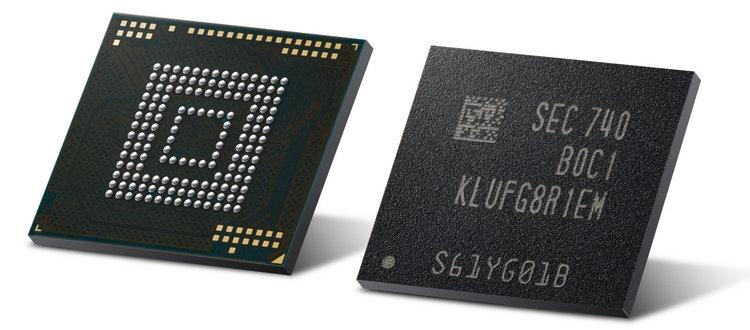 Мобильные чипы UFS 3.0 объёмом 512 Гбайт