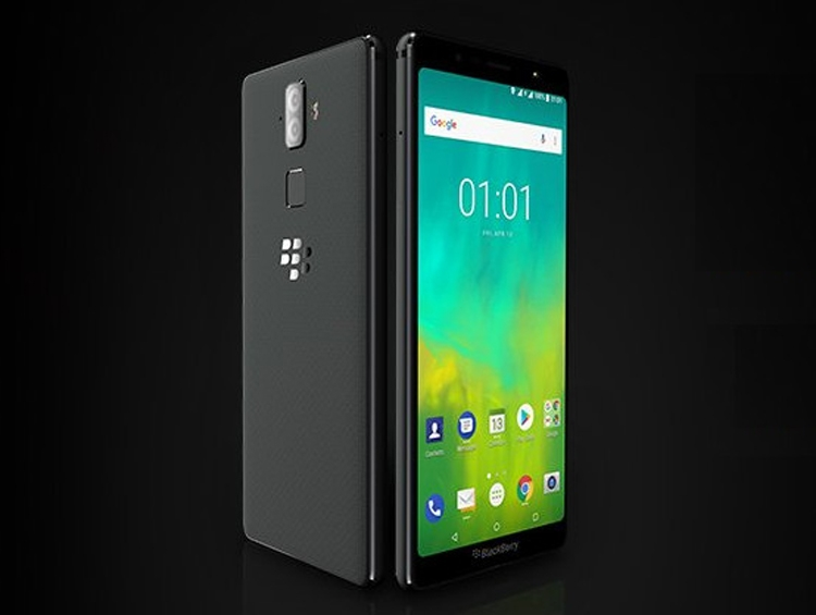 Смартфоны BlackBerry Evolve и EvolveX