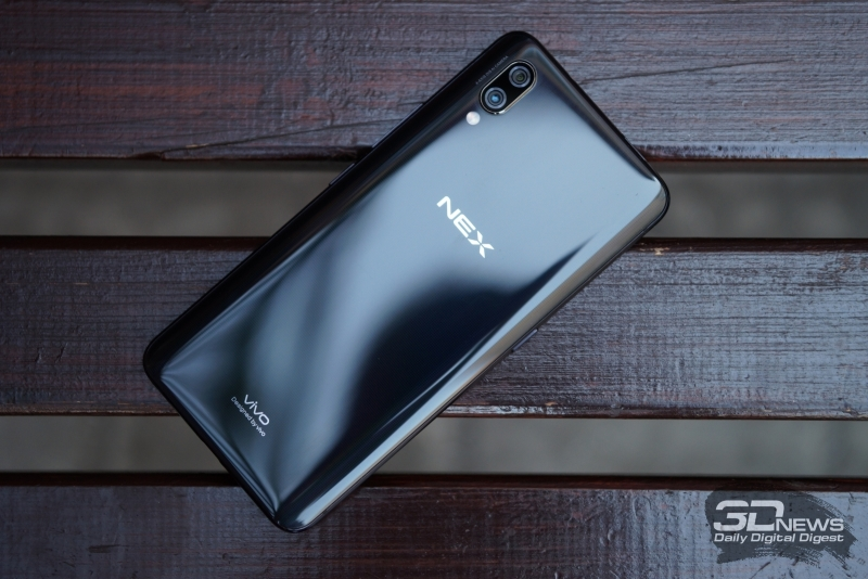 Review Vivo NEX: the most interesting smartphone of the summer