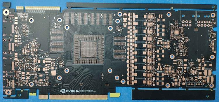 Логотип NVIDIA — отличительный знак видеокарт GeForce эталонного дизайна