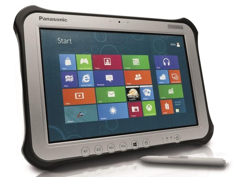 """Популярный «внедорожный» планшет Panasonic Toughpad FZ-G1 стал мощнее"""""""