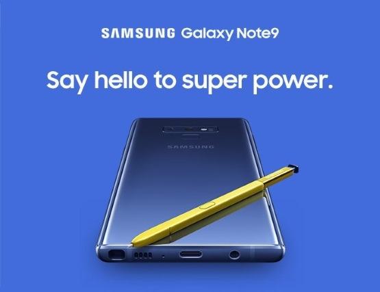 Самсунг случайно показала Galaxy Note 9