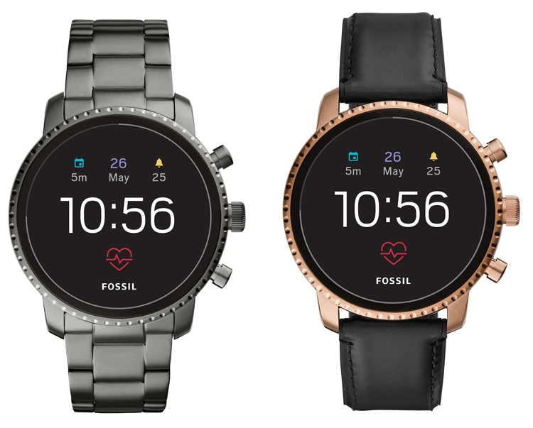 Смарт-часы Fossil Q Venture HR и Q Explorist HR