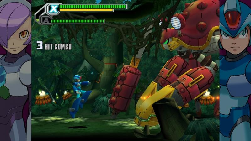 Восьмая часть выглядит в 3D лучше, чем первая, хотя бы потому, что больше похожа на привычную Mega Man X