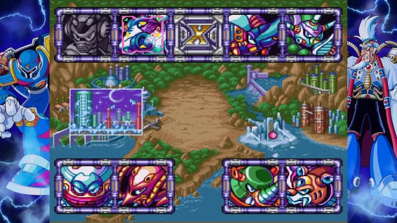 Экран с боссами остается практически неизменным во всех играх серии