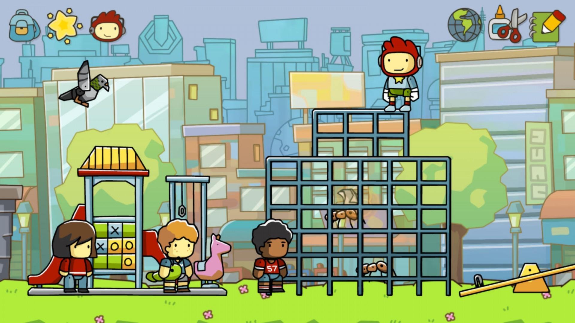 Сборник Scribblenauts Mega Pack выйдет на консолях в сентябре