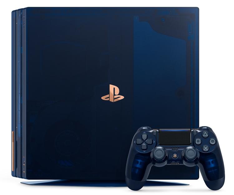 """Прозрачная консоль ограниченной серии 500 Million Limited Edition PS4 Pro оценена в $500"""""""