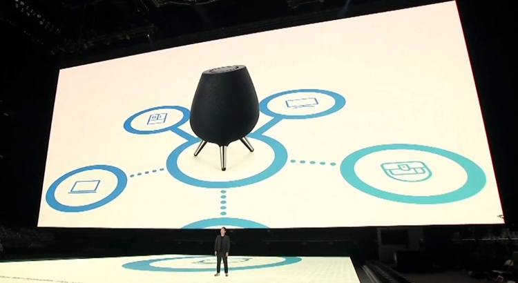 """Samsung Galaxy Home: смарт-динамик с голосовым ассистентом Bixby"""""""