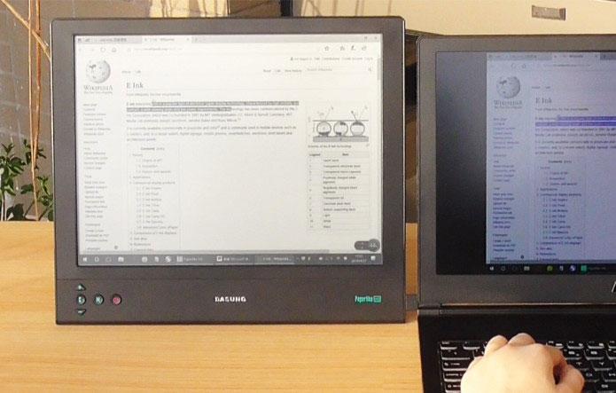 """Представлен первый компьютерный монитор на основе экрана E-Ink"""""""