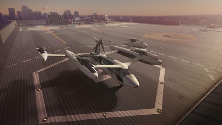 """Uber привлекла к созданию воздушного такси Техасский университет и Пентагон"""""""