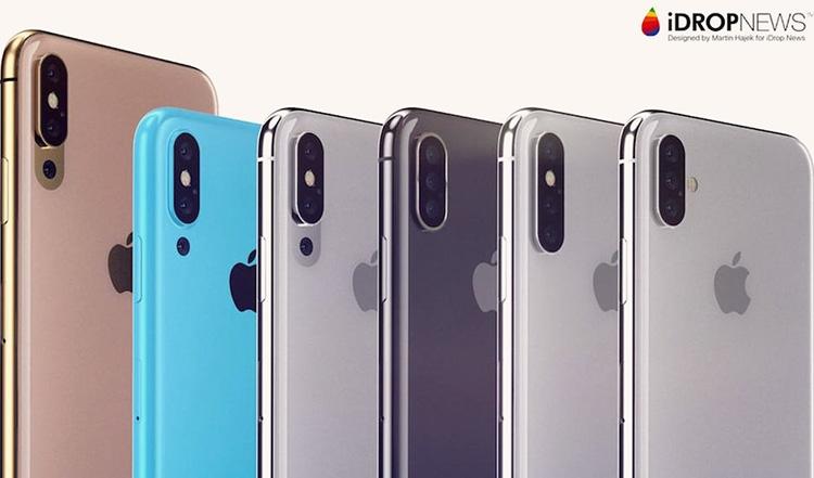Apple собирается представить три новых iPhone в 2018 году, включая модель с тройной тыльной камерой?