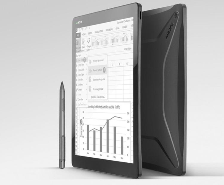 """InkBook Infinity: ридер с большим экраном и сенсорным управлением"""""""