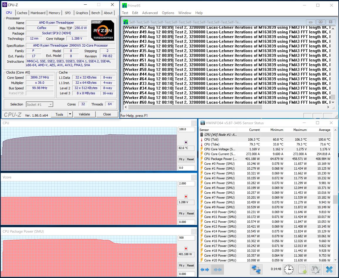 Обзор процессоров AMD Ryzen Threadripper 2990WX и 2950X