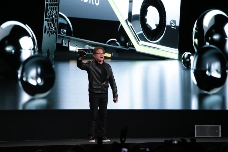 "NVIDIA представила видеокарты Quadro RTX на базе архитектуры Turing"""