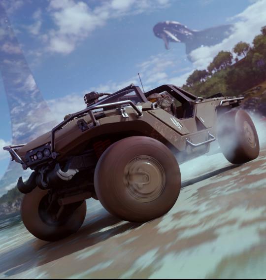 "Слухи: в Forza Horizon 4 будет миссия в антураже Halo"""