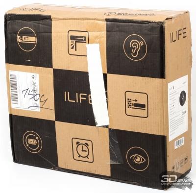 Робот-пылесос ILIFE A7 – управляй им со смартфона!