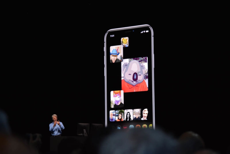 """Групповые звонки в FaceTime появятся в iOS 12 не сразу"""""""