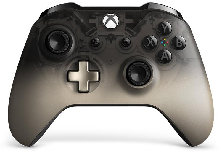 "Контроллер Xbox Phantom Black Special Edition выполнен в прозрачном корпусе"""