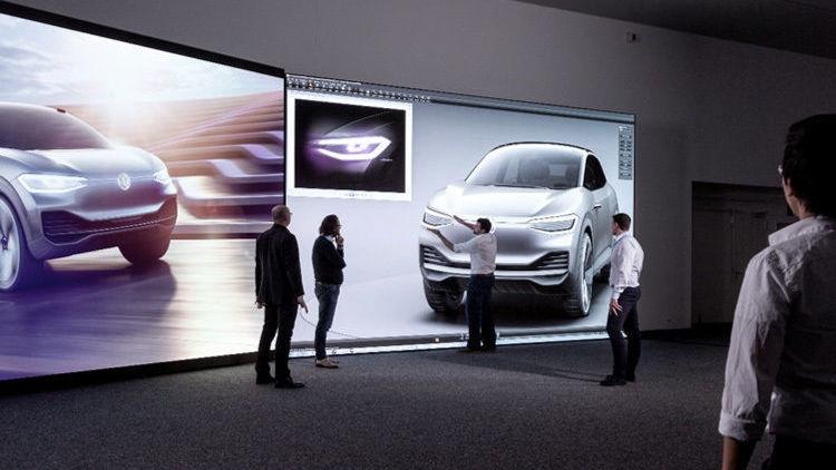 """Volkswagen полностью переходит на виртуальное моделирование"""""""