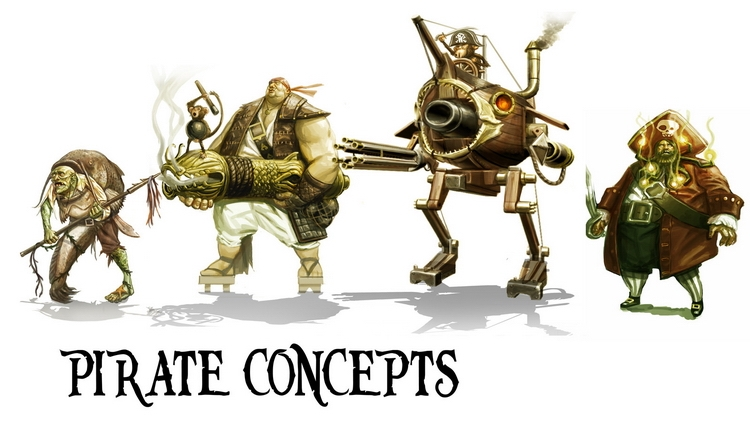 Концепт-арты отменённой TimeSplitters 4