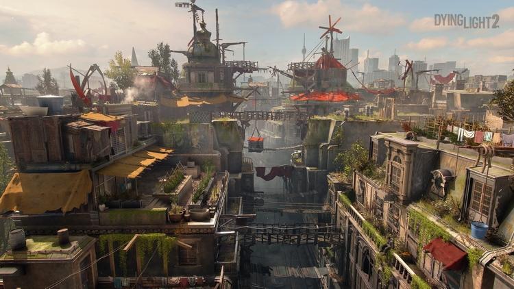 Действия игрока меняют город даже внешне