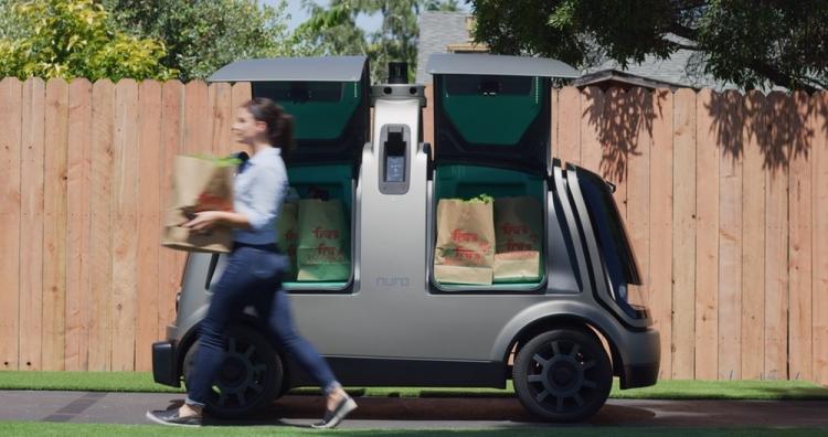 """В Аризоне начали доставку продуктов самоуправляемыми автомобилями"""""""