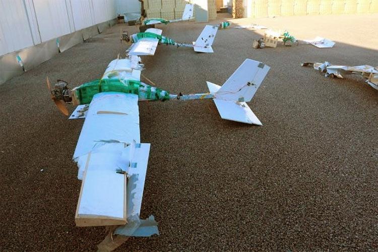 БПЛА, атаковавший российскую авиабазу Хмеймим (Министерство обороны России)