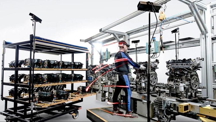 """Ford испытывает 3D-технологию отслеживания движений рабочих"""""""